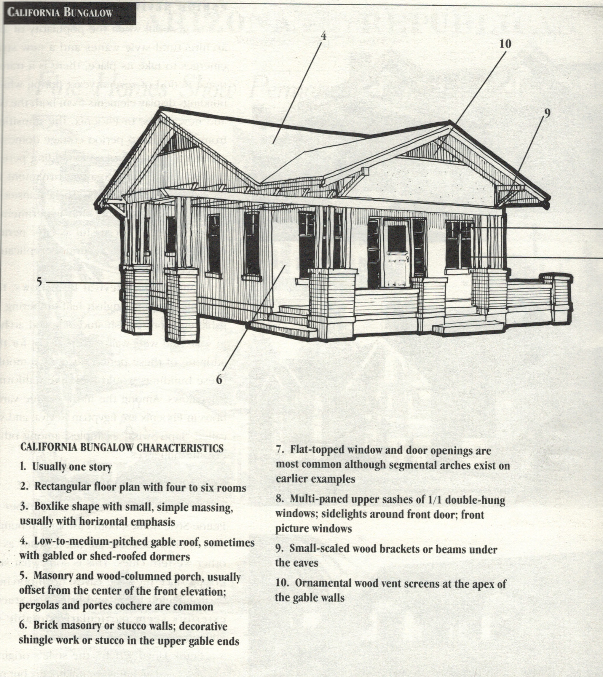 Craftsman Style Homes San Diego Vintage Homes – Craftsman Bungalow House Plans 1930S